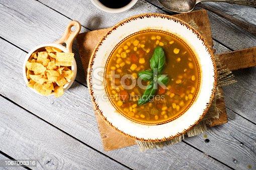 Bowl of Corn Chowder
