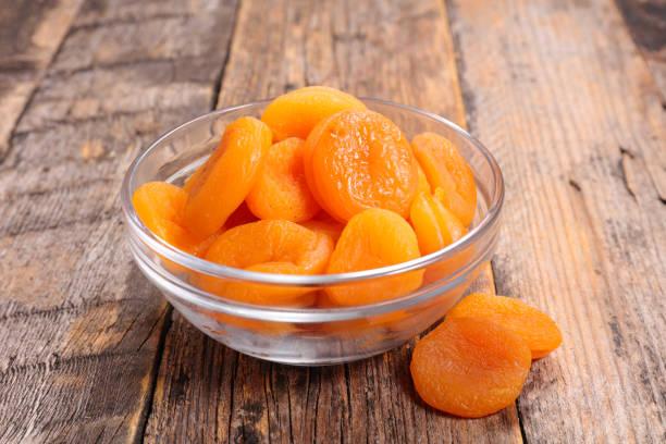 Bol de chips abricot - Photo