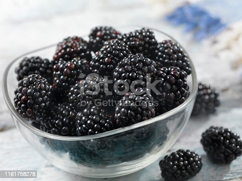 Bowl of Fresh Blackberry's