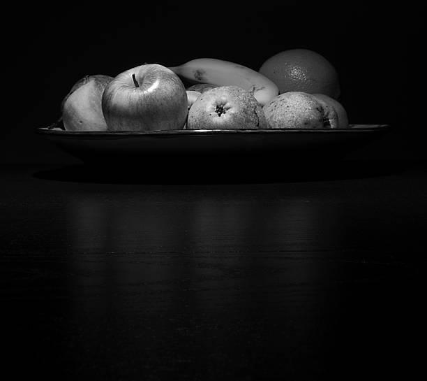 Bowl of fruits stock photo