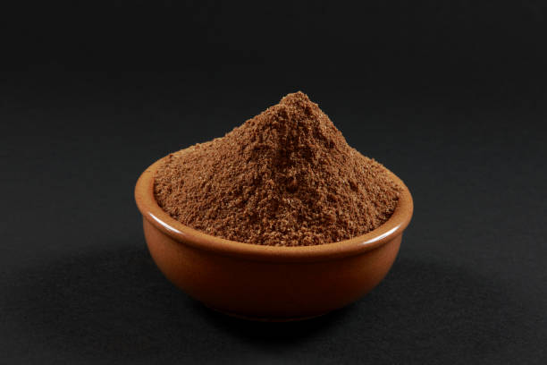 Bowl of Garam Masala ready as ingredient towards Gourmet recipe Bowl of Garam Masala ready as ingredient towards Gourmet recipe garam masala stock pictures, royalty-free photos & images