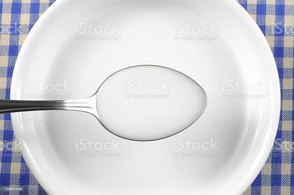 Bowl of milk. royalty-free stock photo