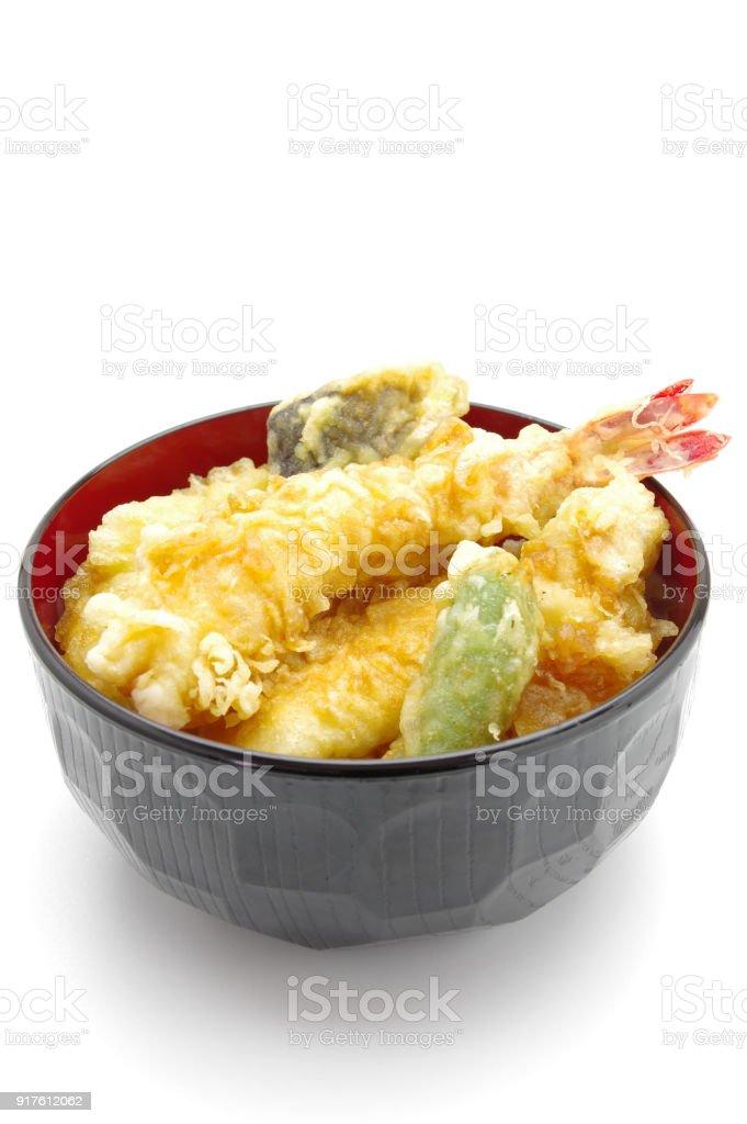 ご飯と魚のフライ ストックフォト