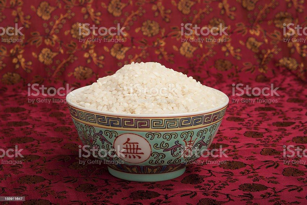 Tigela de arroz. - foto de acervo