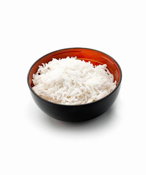 Bowl of Rice stock photo