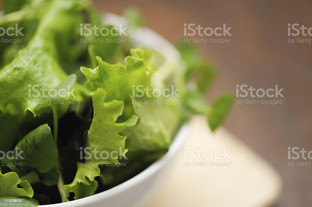 bowl of salad royalty-free stock photo