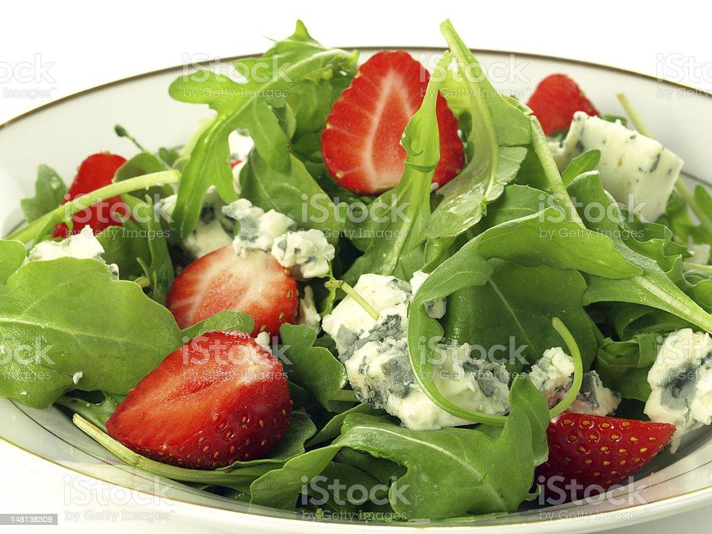 Bowl of salad stock photo