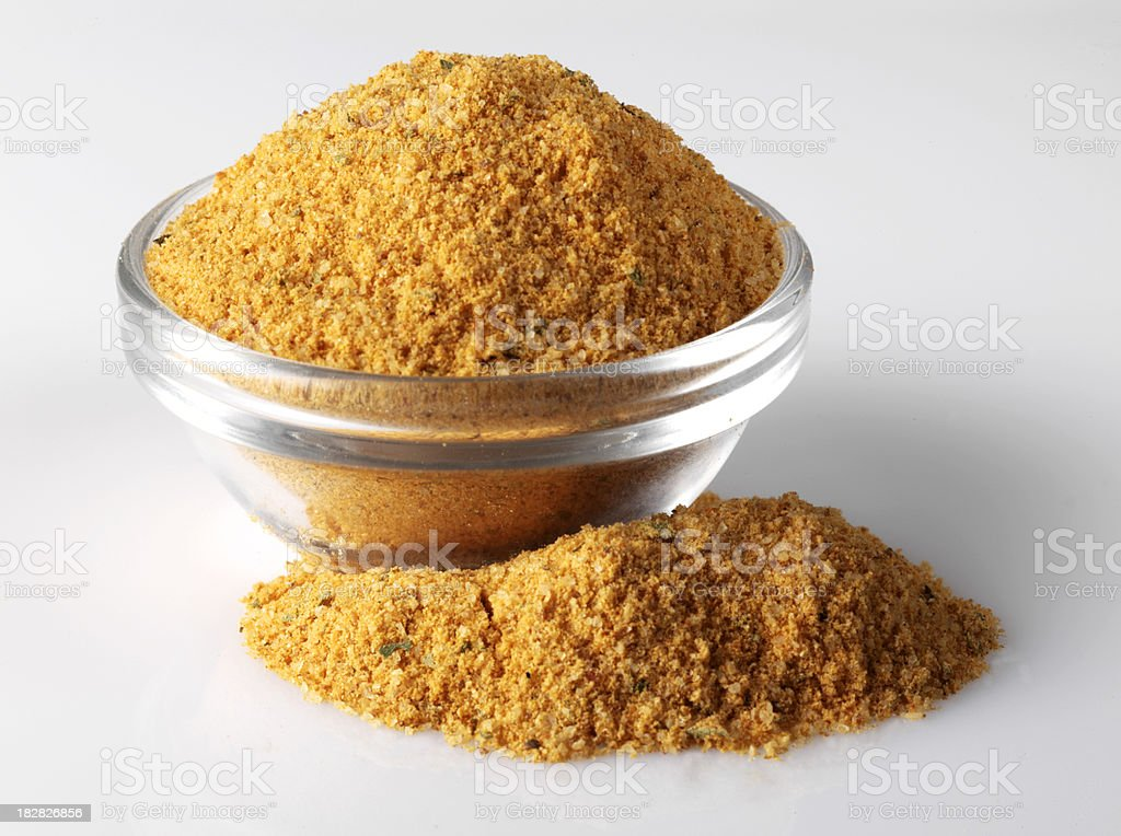 Bowl of Spice stock photo