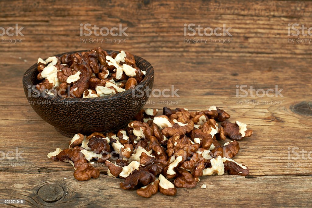 Bol de noix photo libre de droits