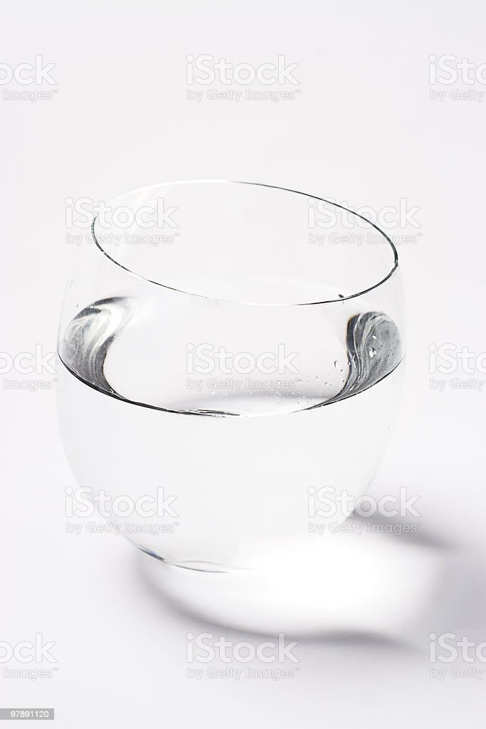 bowl of water royalty-free stock photo