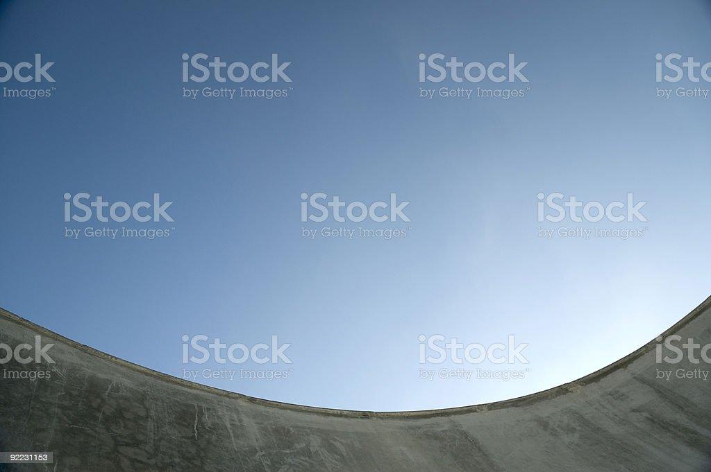 Bowl - Skatepark2 stock photo