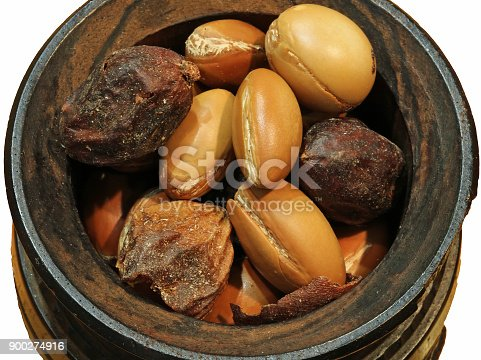 istock bowl with argan seeds for the production of beauty cosmetics 900274916
