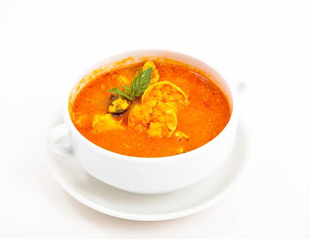 Schüssel mit Suppe – Foto