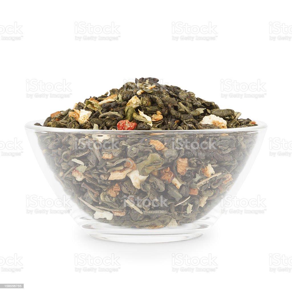 Bowl With Tea royalty-free stock photo