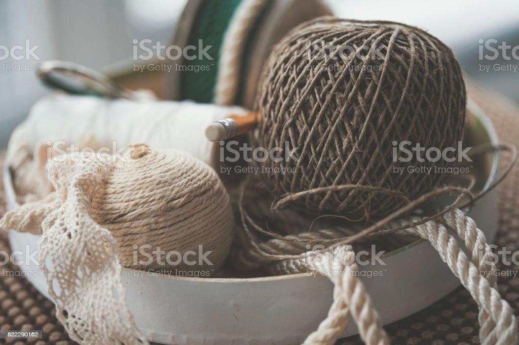 rope of cotton white set balls decor neutral living bottles coastal decorative p