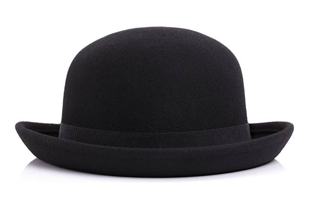 Bowler hat stock photo