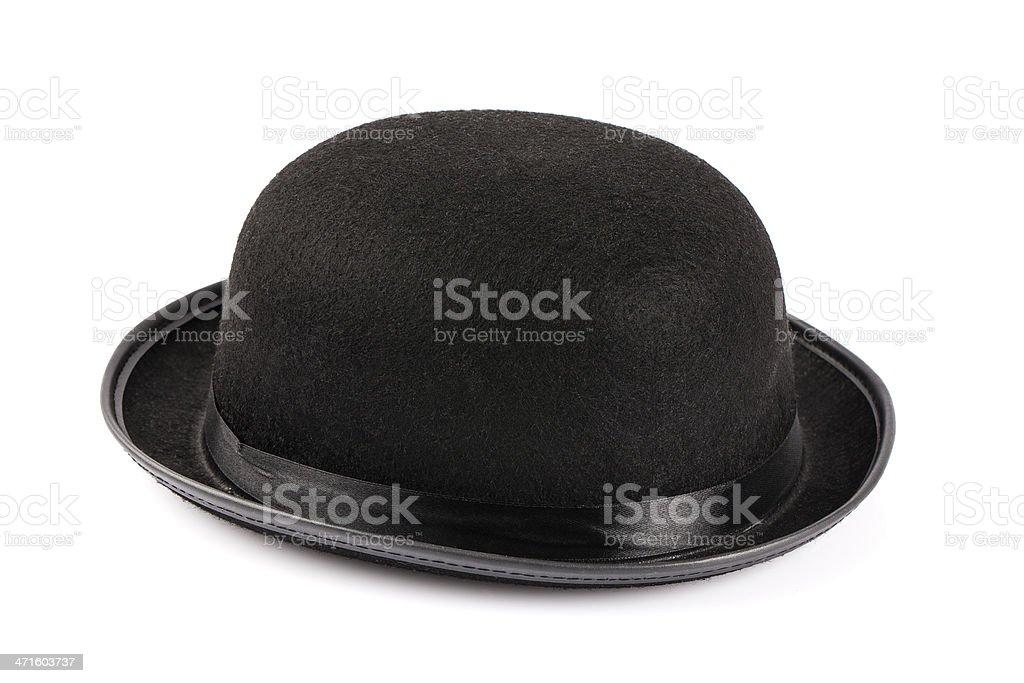 Bowler hat royalty-free stock photo