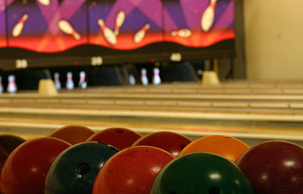 Bowling Abstract stock photo