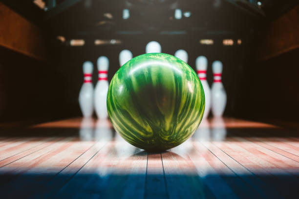 Bowling-Kugel. Wettbewerb. – Foto