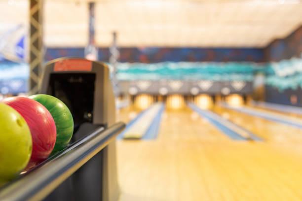 Bowling-Kugelspender – Foto