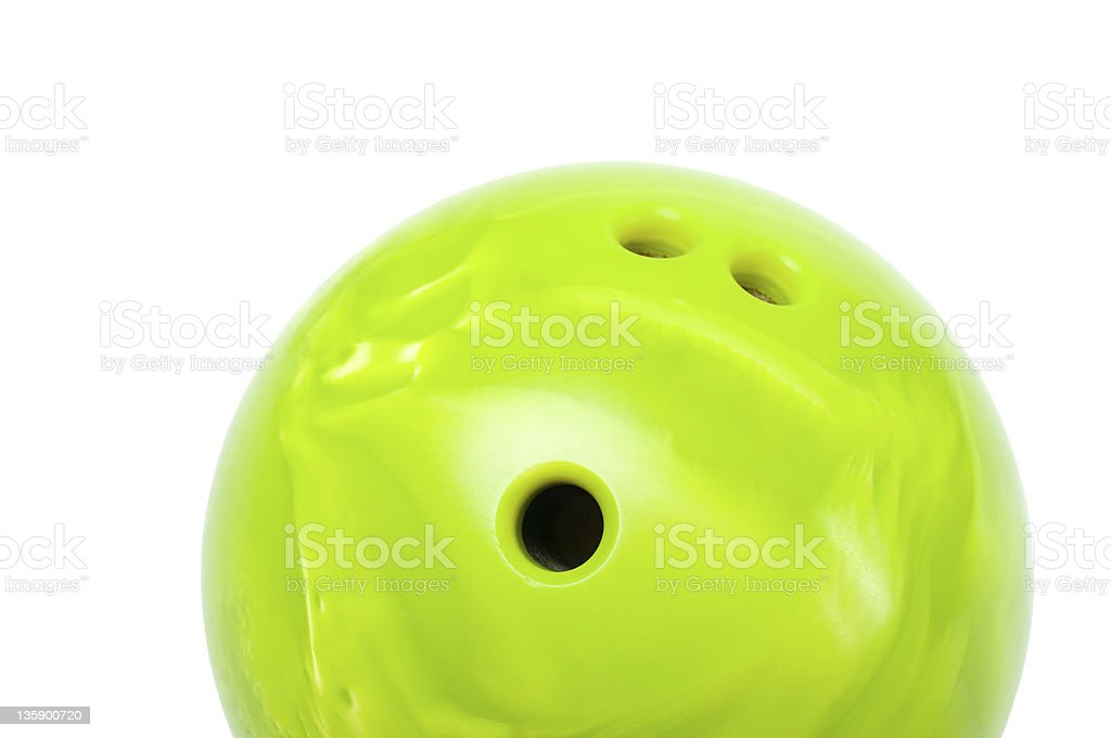 bowling ball stock photo