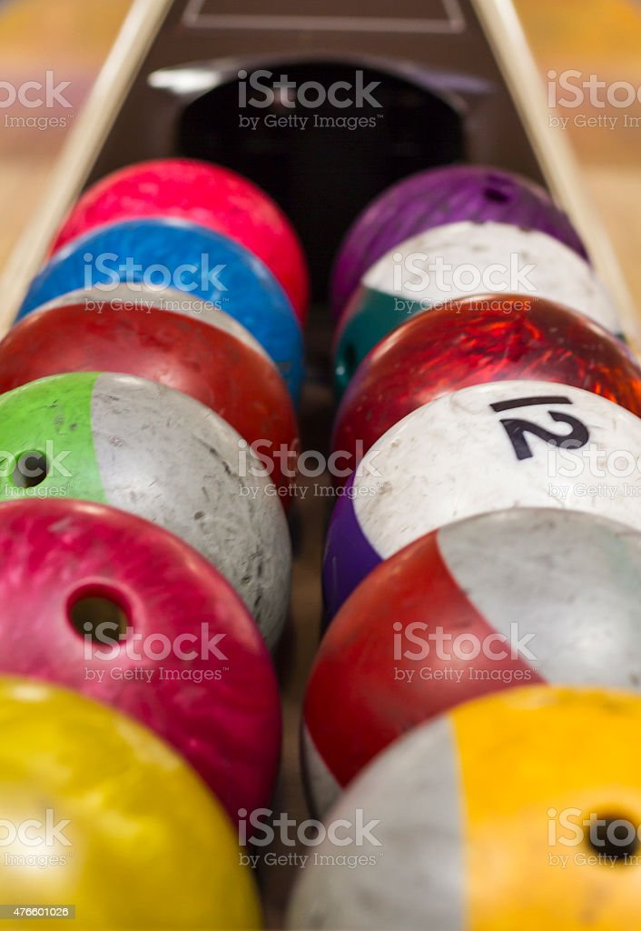 Bowling balls - Close-up