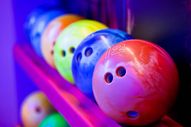 Bowlingkugel auf ball Regale – Foto
