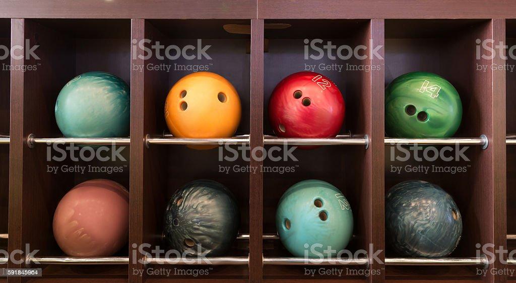 Bowling balls foto