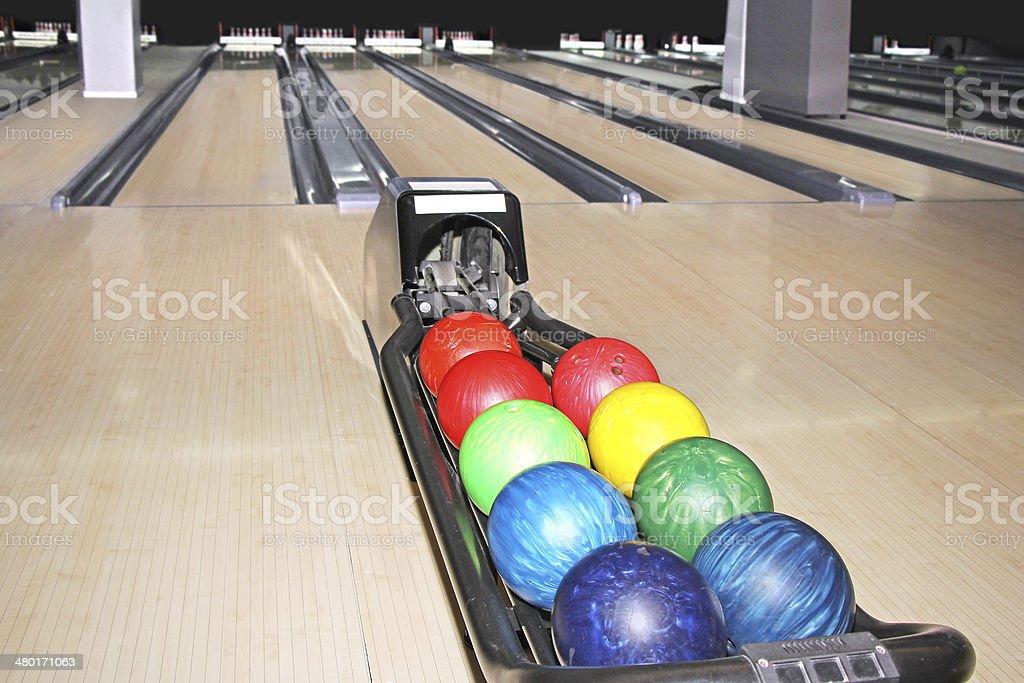 Bowling club stock photo