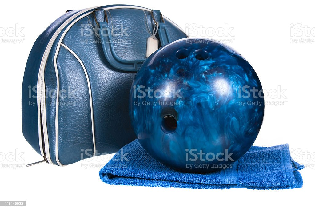Bowling Equipment stock photo