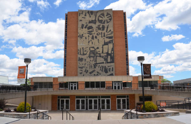 Bowling Green State University library stock photo