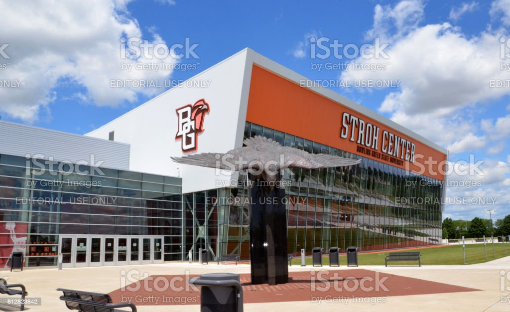 Bowling Green State University Stroh Center stock photo