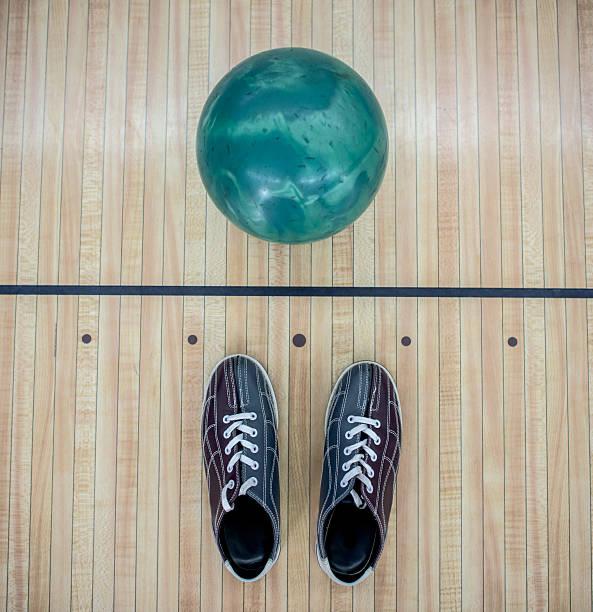 Bowling kit stock photo