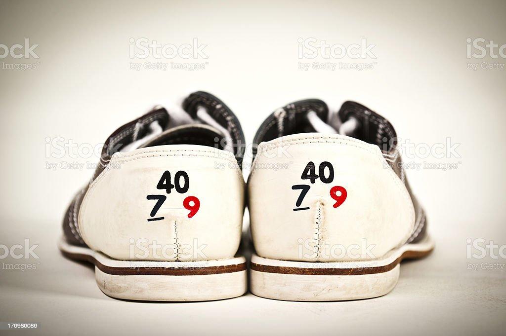 Bowling Shoe stock photo
