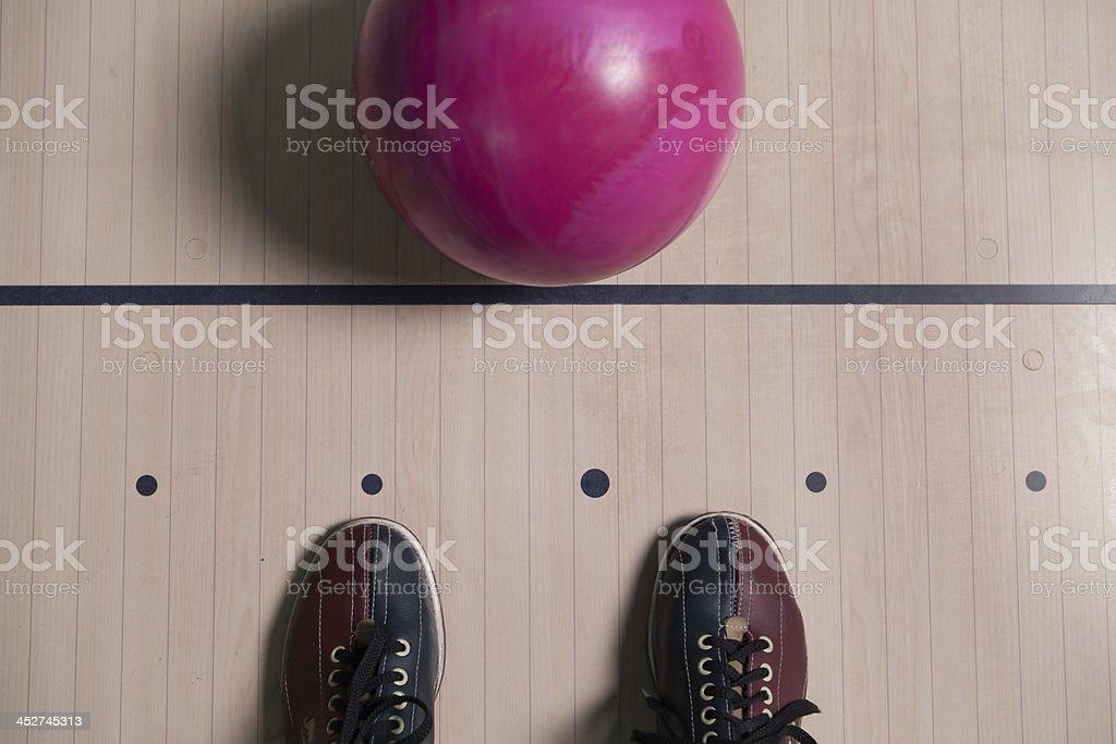 Bowling Shoe. stock photo