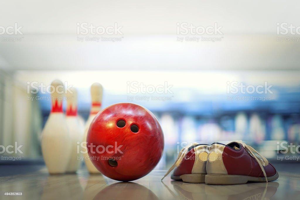 Bowlingschuh – Foto