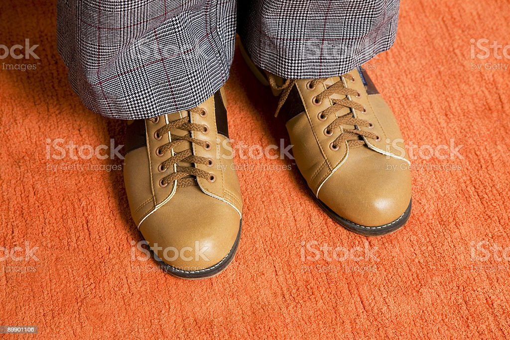 Bowling Shoes 2 royalty-free stock photo