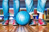 istock Bowling Shoes 474403606