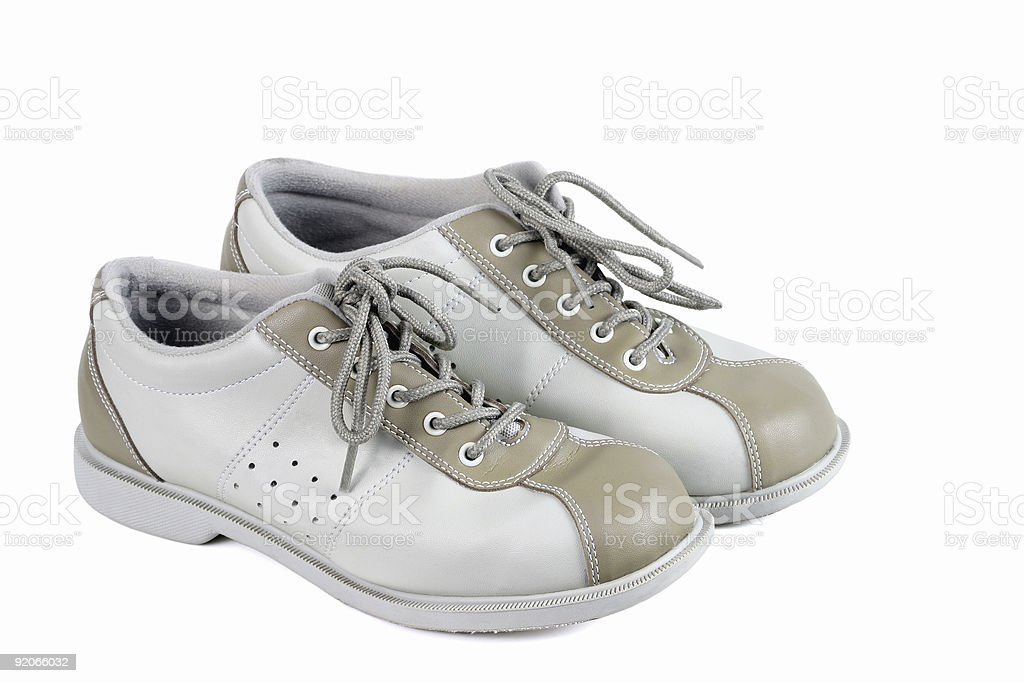 Bowling Shoes royalty-free stock photo