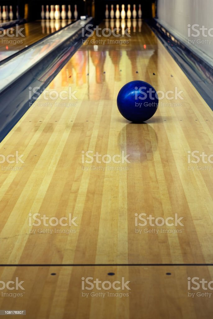 bowling shoot stock photo