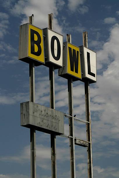 Bowling-Zeichen (vintage – Foto