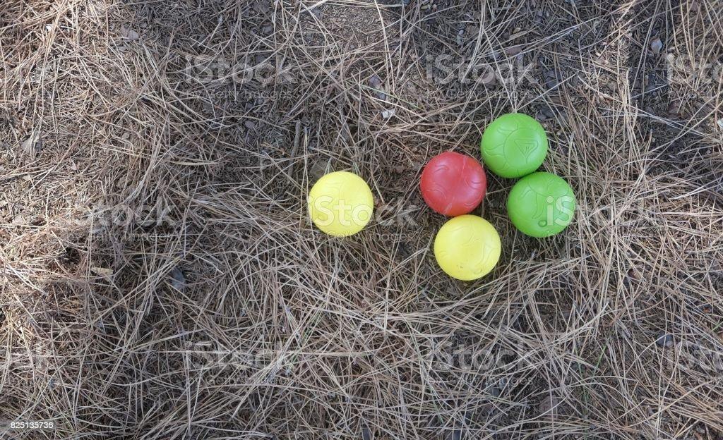 bowls ball stock photo