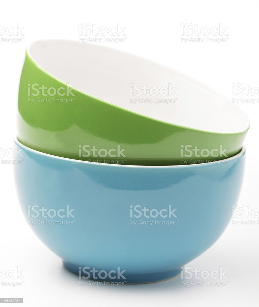 Bowls royalty-free stock photo