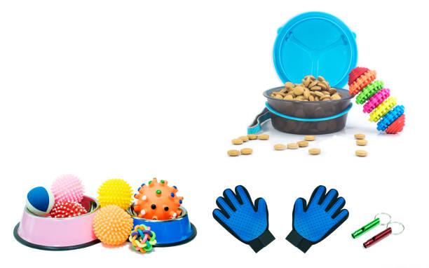 Bowls stainless steel with dry food and rubber toys for pet on white picture id996245472?b=1&k=6&m=996245472&s=612x612&w=0&h=h  5u8fii24axdmmrne5nkpyoyroepijetpotwju pk=