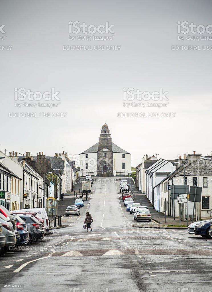 Bowmore, Islay stock photo