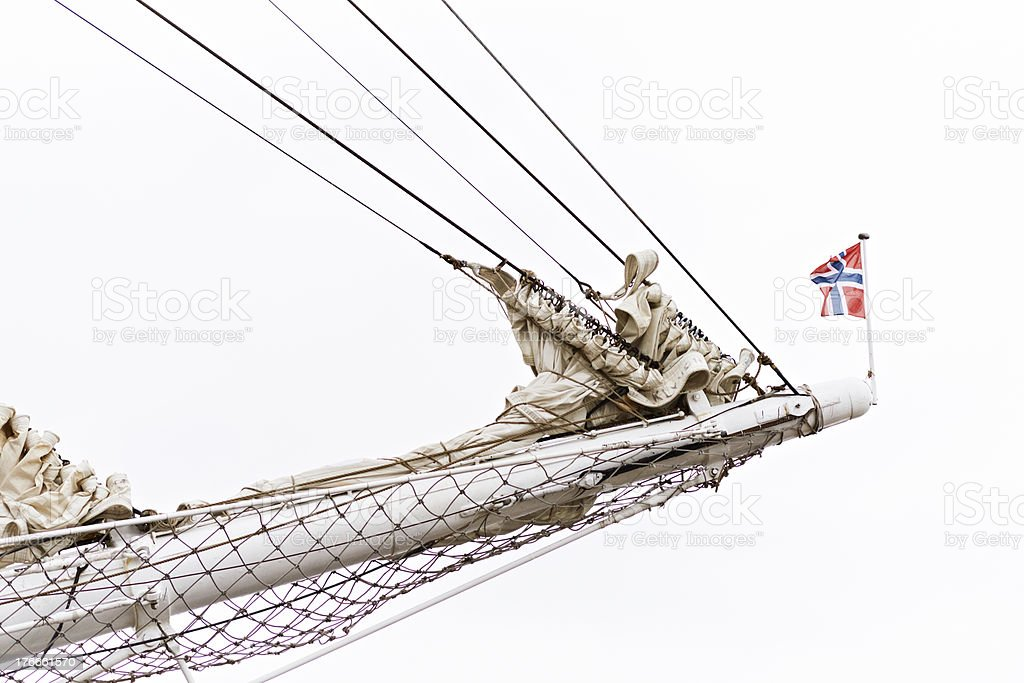 Bowsprit royalty-free stock photo