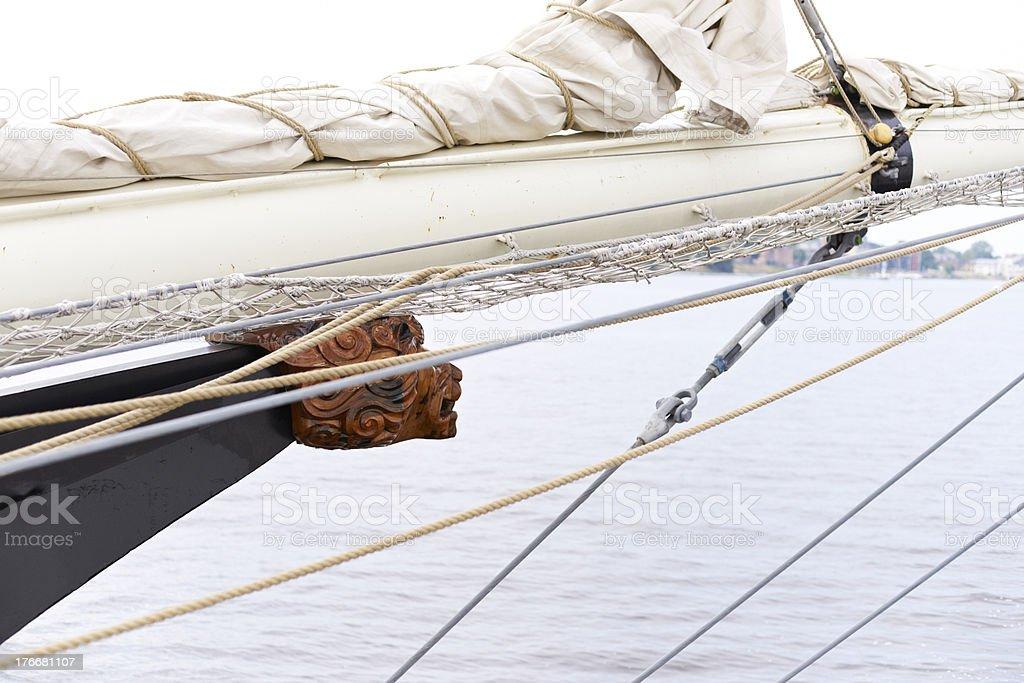 Bowsprit royalty-free stock photo