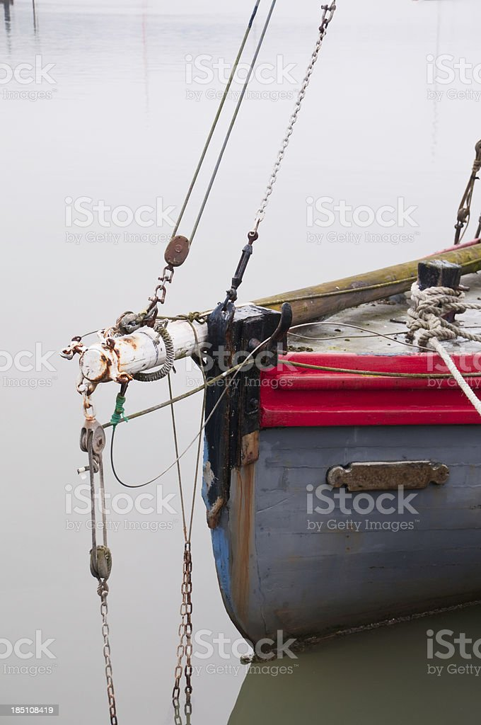 Bowsprit stock photo