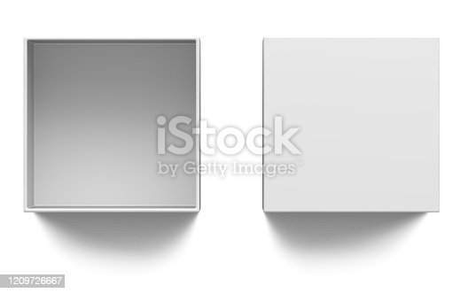 box, 3d, isolated