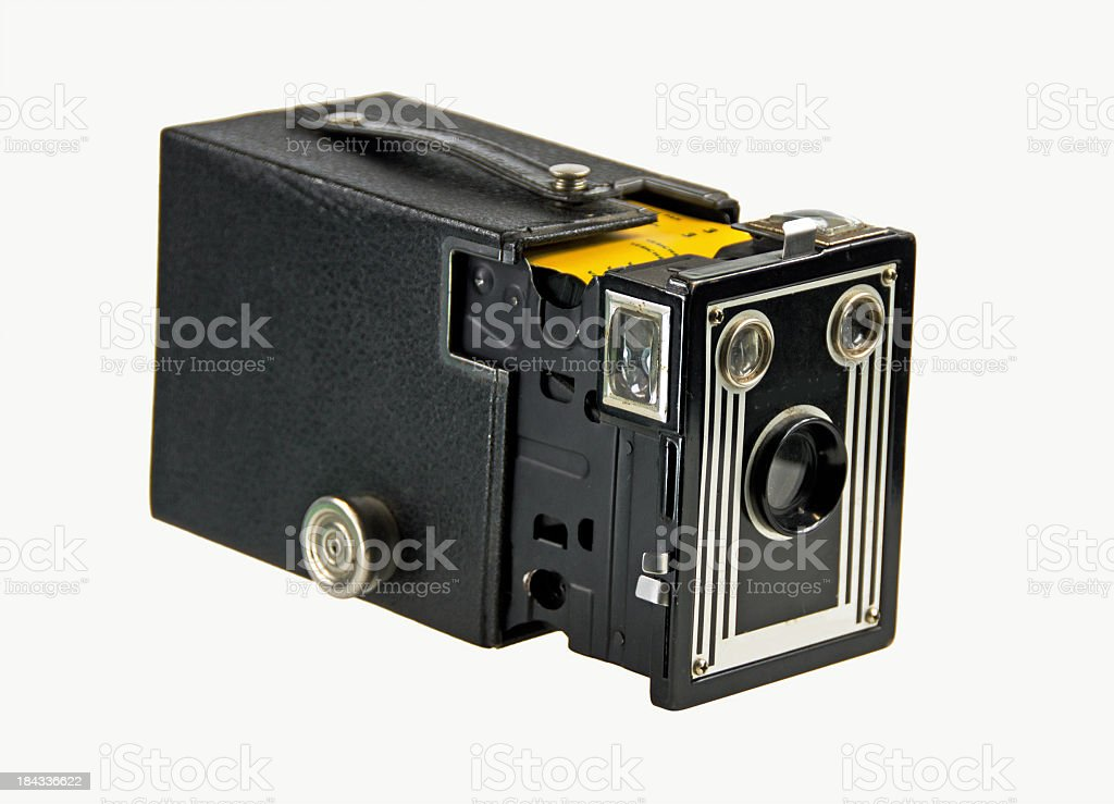 Box Camera Opened royalty-free stock photo